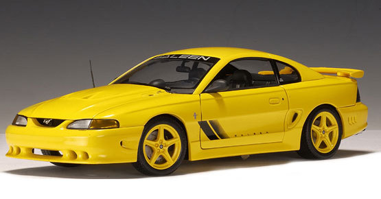 Saleen Mustang S351 Yellow by AUTOart 1/18th scale