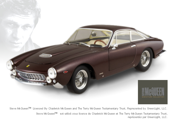 Ferrari 275 berlinetta Steve McQueen STARS COLLECTION 1/18 Scale by Hot Wheels ELITE Edition