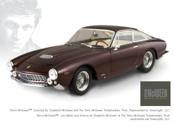 Ferrari 275 berlinetta Steve McQueen STARS COLLECTION 1/18 Scale by Hot Wheels ELITE Edition