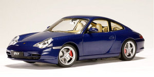 SALE Porsche 911 (996)  Carrera Coupe Blue 1/18 Scale by AUTOart SALE