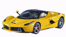 FERRARI LaFERRARI F70 IN YELLOW by HOT WHEELS ELITE 1:18
