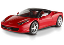 FERRARI 458 ITALIA RED by HOT WHEELS SUPER ELITE EDITION 1:18 NEW IN BOX HARD TO FIND