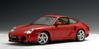 Porsche 911 (996)  Carrera Turbo Red 1/18 Scale by AUTOart