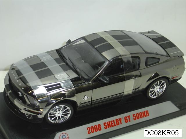 2008 FORD MUSTANG SHELBY GT500 SUPERSNAKE CHROME SPECIAL 1:18 by SHELBY COLLECTIBLES