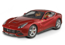 FERRARI F12 BERLINETTA RED 1:18 BY HOT WHEELS ELITE EDITION