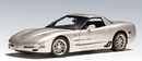 2001 CHEVROLET CORVETTE Z06 COUPE SILVER by AUTOart 71062 1:18