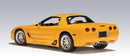 2001 CHEVROLET CORVETTE Z06 COUPE YELLOW by AUTOart 71063 1:18