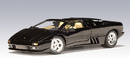 LAMBORGHINI DIABLO ROADSTER BLACK 1/18 AUTOART DAMAGED BOX RARE DISCONTINUED