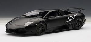 LAMBORGHINI MURCIELAGO LP670-4 SV NERO NEMESIS FLAT BLACK AUTOart #74618 1:18 BRAND NEW