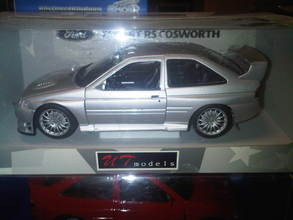 Ford Escort Cosworth Executive Silver 1/18th scale by UT Models
