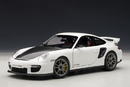 PORSCHE 911 (997) CARRERA COUPE GT2 RS MATT WHITE AUTOart 1:18 #77963 BRAND NEW IN BOX