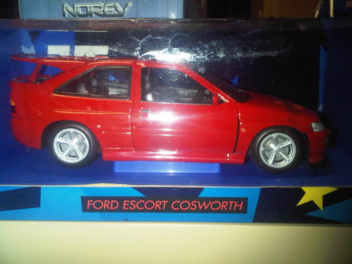 Ford Escort Cosworth Executive Red 1/18th scale by UT Models