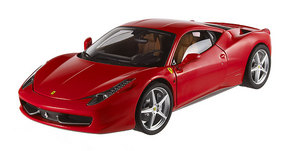 Ferrari 458 Italia Red 1/18th Scale by HOT WHEELS ELITE