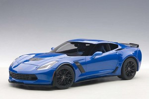 2015 CHEVROLET CORVETTE C7 Z06 LAGUNA BLUE by AUTOart #71265