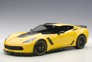 2015 CHEVROLET CORVETTE C7 Z06 C7R SPECIAL EDITION RACING YELLOW by AUTOart #71260