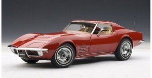 1970 CHEVROLET CORVETTE COUPE MONZA RED by AUTOart #71172