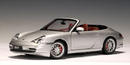 SALE Porsche 911 (996) Carrera Cabriolet Silver 1/1th Scale by AUTOart SALE