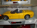 Corvette C5 Convertible Yellow 1/18th Scale by UT Models RARE FIND
