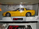 Corvette C5 Coupe Yellow 1/18th Scale by UT Models