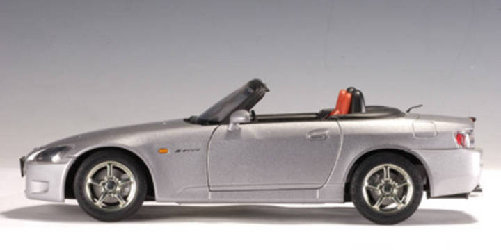 SALE Honda S2000 Gray 1/18 Scale by AUTOart SALE