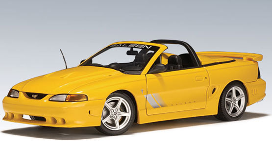 Saleen Mustang Speedster S351 Yellow by AUTOart 1/18th scale