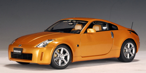 Nissan 350 Z Orange Coupe 1/18th scale by AUTOart
