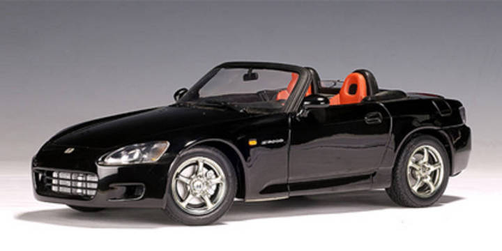 SALE Honda S2000 Black 1/18 Scale by AUTOart SALE