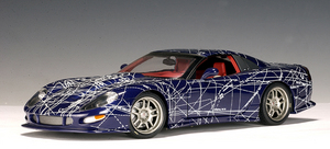 Chevrolet Corvette Callaway Muko Art Car by AUTOart 1/18 scale