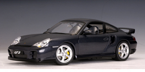 Porsche 911 (996)  Carrera Turbo GT2 Gray 1/18 Scale by AUTOart