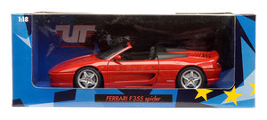 Ferrari F355 Spider Red 1/18th Scale by UT Models