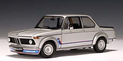 BMW 2002 Turbo Silver 1-18th scale by AUTOart