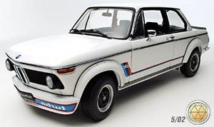 BMW 2002 Turbo White 1-18th scale by AUTOart