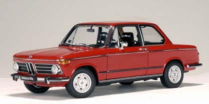SALE BMW 2002 tii Coupe Red 1-18th scale by AUTOart SALE