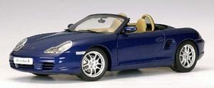 Porsche Boxster S 986 Cabriolet Facelift Blue 1:18 Scale by AUTOart