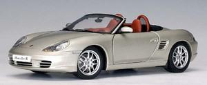 Porsche Boxster (986) Cabriolet Facelift Silver 1:18 Scale by AUTOart