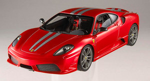 Ferrari F430 Scuderia Red 1/18 Scale by Hot Wheels ELITE Edition