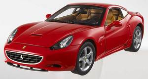 Ferrari Califronia Red 1/18th Scale by HOT WHEELS ELITE