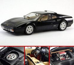 Ferrari 328 GTB BLACK by KYOSHO 1/18 Scale