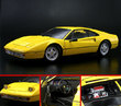 Ferrari 328 GTB Yellow by KYOSHO 1/18 Scale