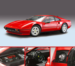 Ferrari 308 GTB Quattro Valve RED by KYOSHO 1/18 Scale
