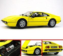 Ferrari 308 GTB 1977 Yellow by KYOSHO 1/18 Scale