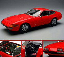 Ferrari 365 GTB4 Daytona RED by KYOSHO 1/18 Scale
