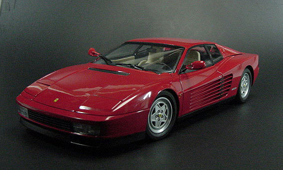 Ferrari Testarossa RED by KYOSHO 1/18 Scale