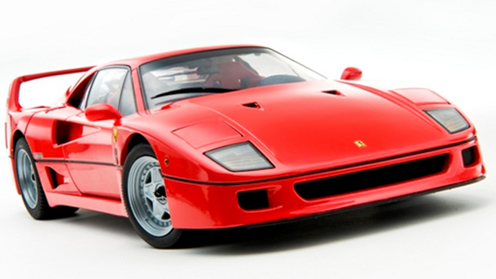 Ferrari F40 Street RED by KYOSHO 1/18 Scale