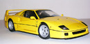 Ferrari F40 Street Yellow by KYOSHO 1/18 Scale