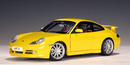 Porsche 911 (996) Carrera GT3 Yellow 1/18 Scale by AUTOart