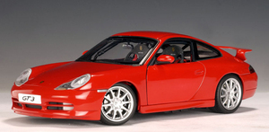 Porsche 911 (996) Carrera GT3 Red 1/18 Scale by AUTOart