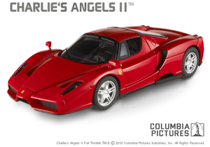 Ferrari Enzo CHARLIES ANGELS STARS Edition Red 1/18 Scale by Hot Wheels Elite Edition
