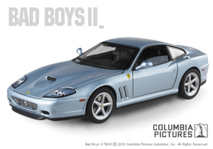 Ferrari F 575m Movie Series BAD BOYS 2  by Hot Wheels ELITE Edition 1/18 Scale