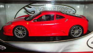 Ferrari F430 Scuderia Red 1/18 Scale by Hot Wheels